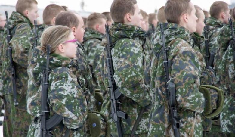 Фин в армии