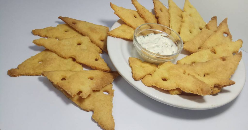 Печенье соленое