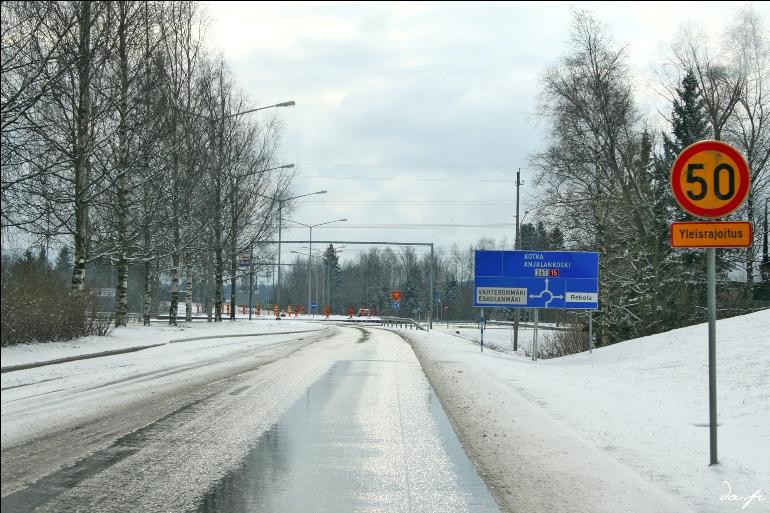 дороги в Финляндии