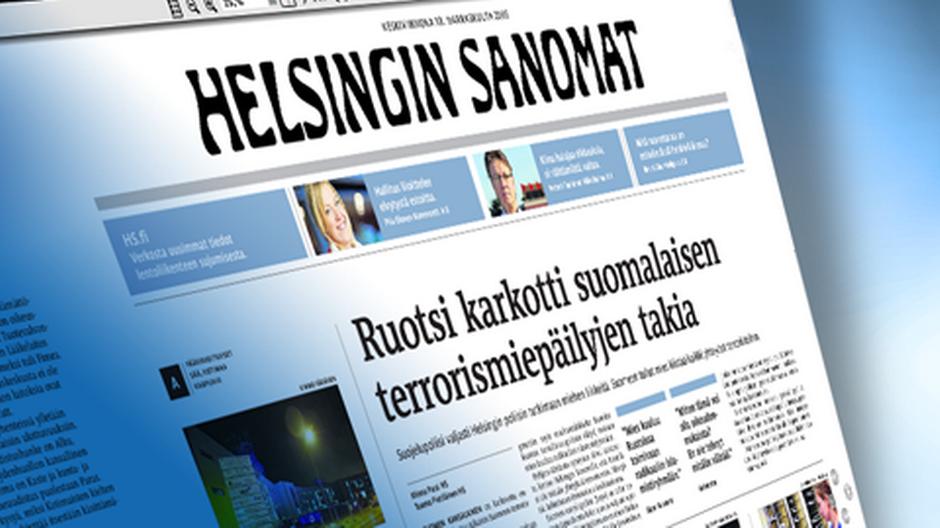 Газета Helsingin Sanomat