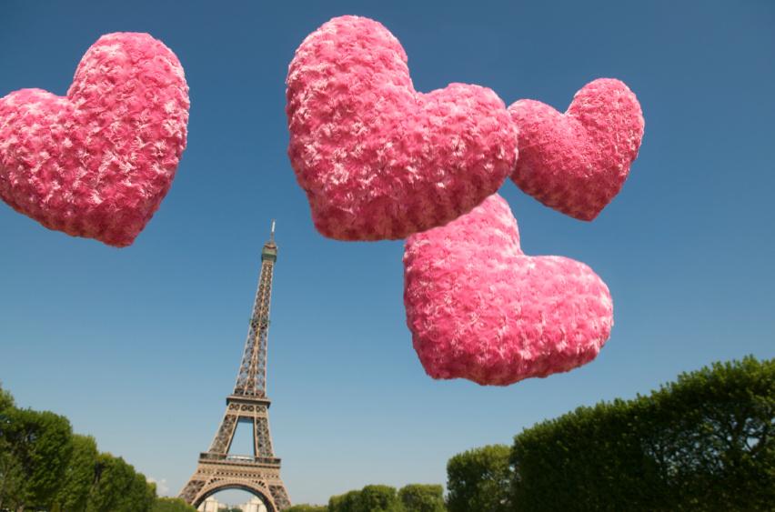 День Святого Валентина в Франции