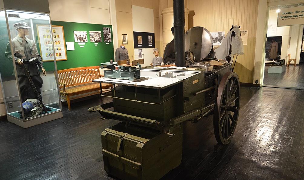 Музей в Миккели связаны с военной тематикой