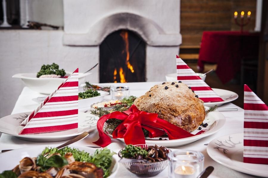 Празднование рождества в Финляндии