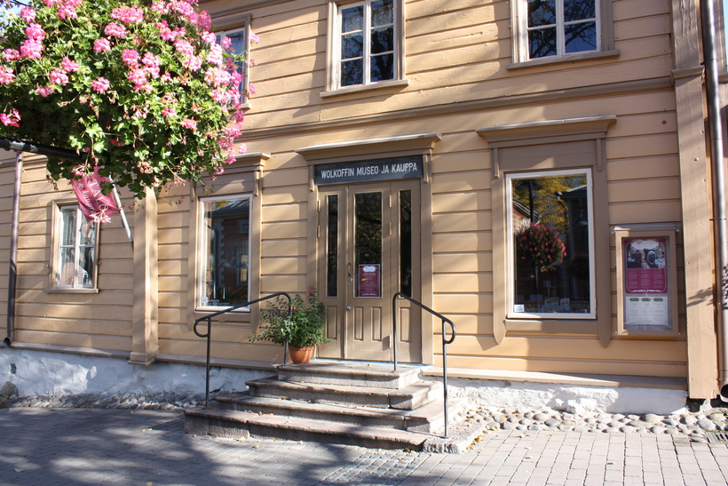 Дом Волкова (Волкоффа) в Лаппеенранте