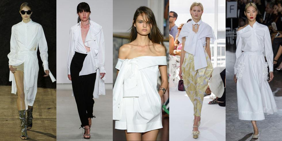 белая мода
