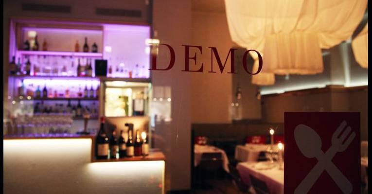 ресторан демо