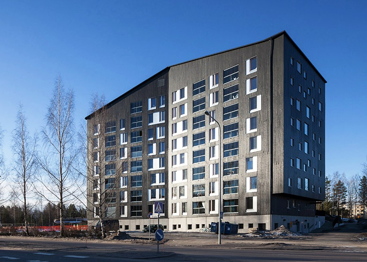 жилой дом в финляндии