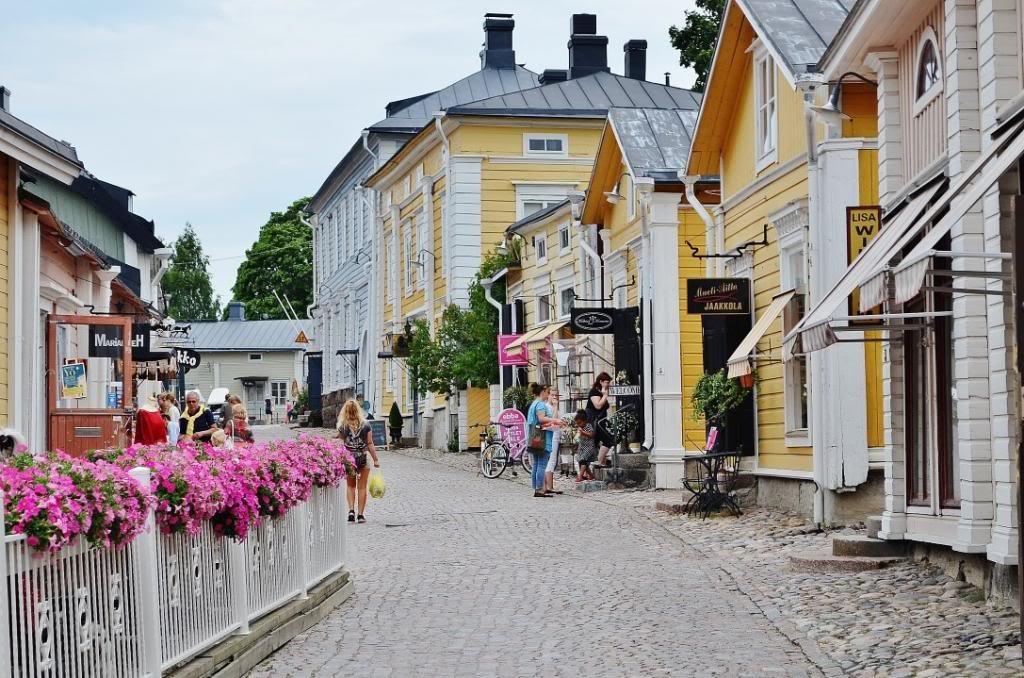 Порвоо - старина и современность финского города