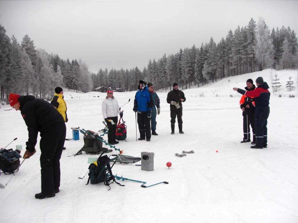 Финский рыболовный гольф