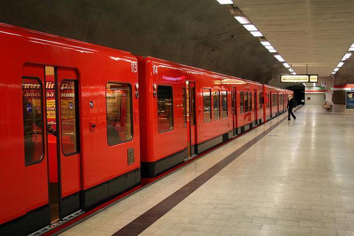 В Финляндии метрополитен