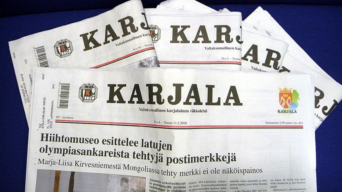 газеты «Karjala»