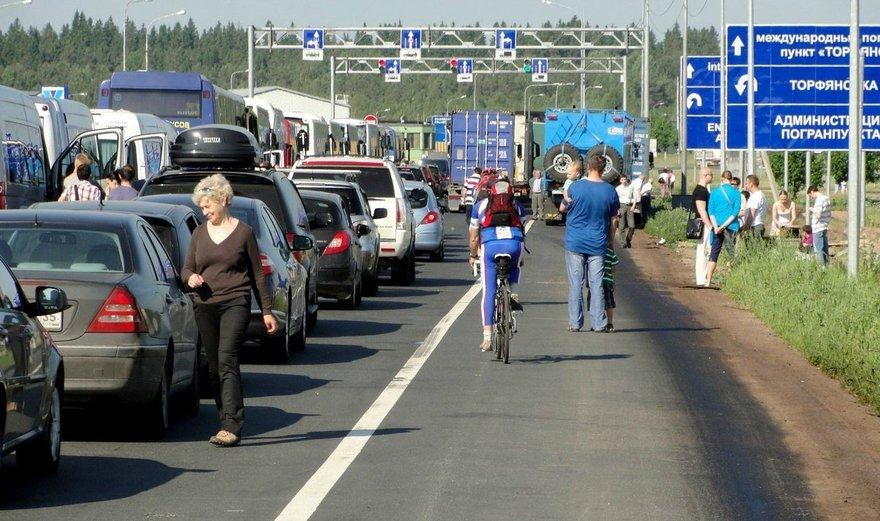 граница в Финляндии