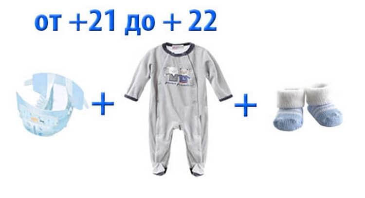Как одеть новорожденного летом