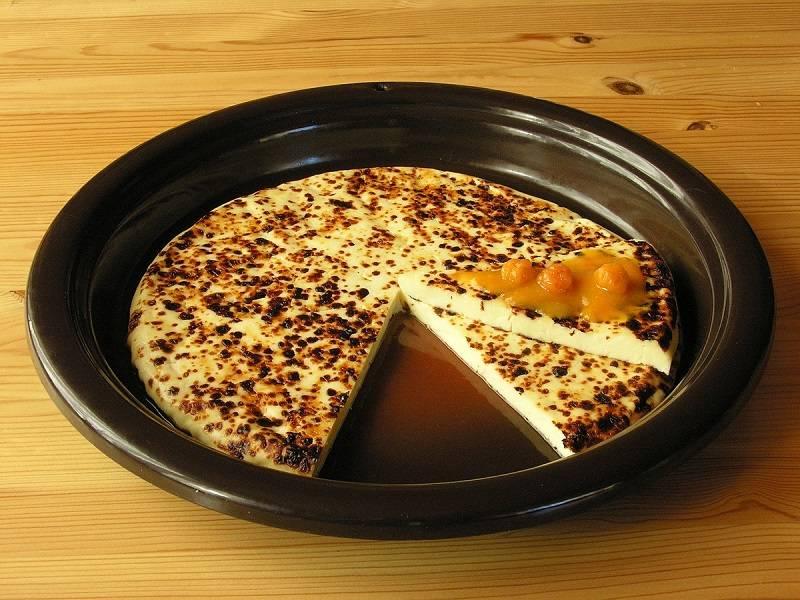 Кофейный десерт с лапландским сыром