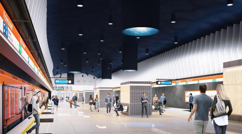 метро в Финляндии