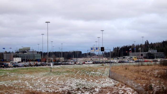 Координаты финского поста: Nuijamaa Tulli