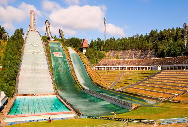 Большая гордость Лахти и самый популярный объект посещения – спортивный центр