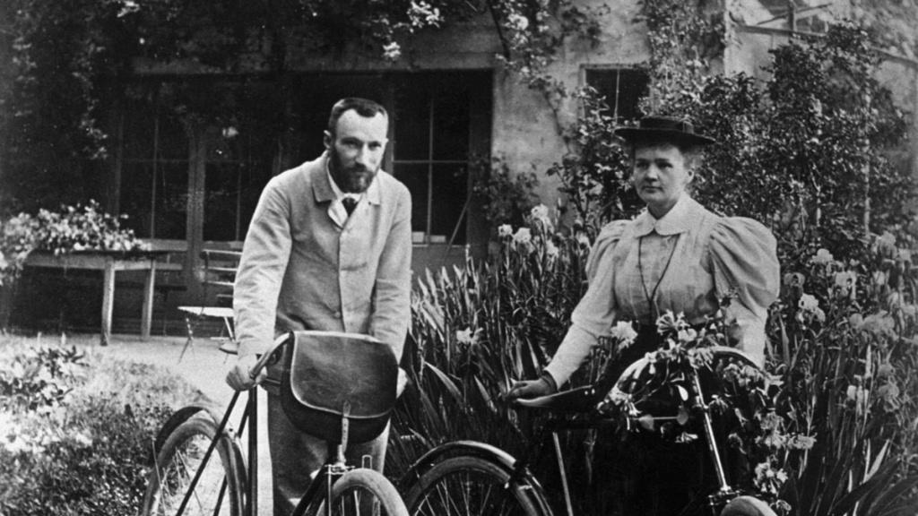 Мария Складовская и Пьер Кюри