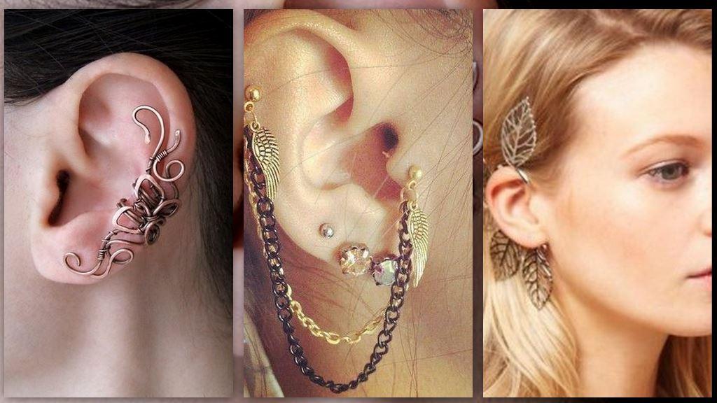 Не модно - Серьги на одно ухо