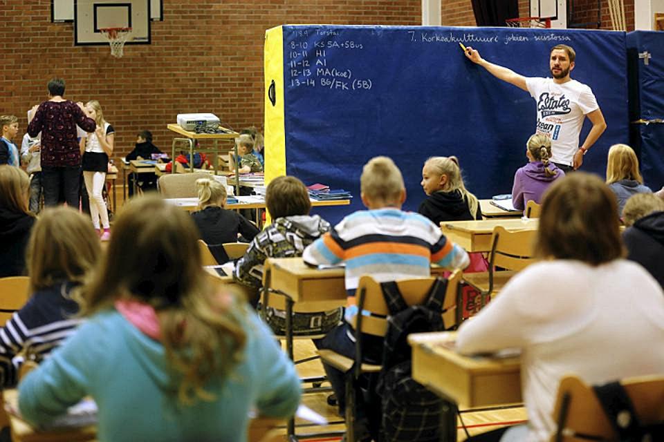 В Финляндии сформирована очень устойчивая система преподавания