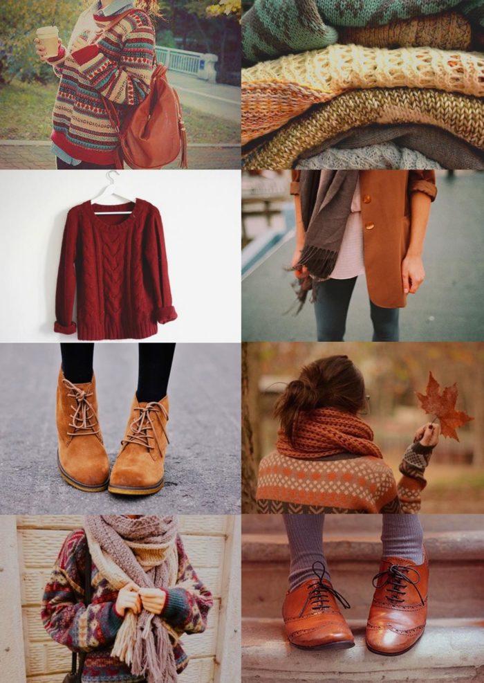 Платье Тепло Осени