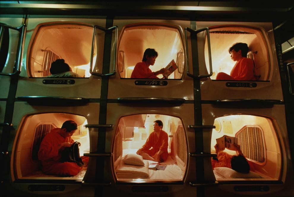Остаемся ночевать…в капсульном отеле