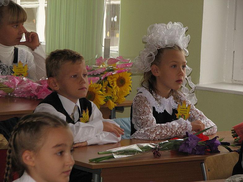 Первый раз в первый финский класс