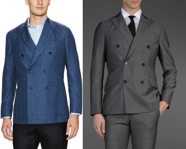 пиджак двойной