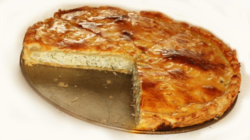 Финский луковый пирог