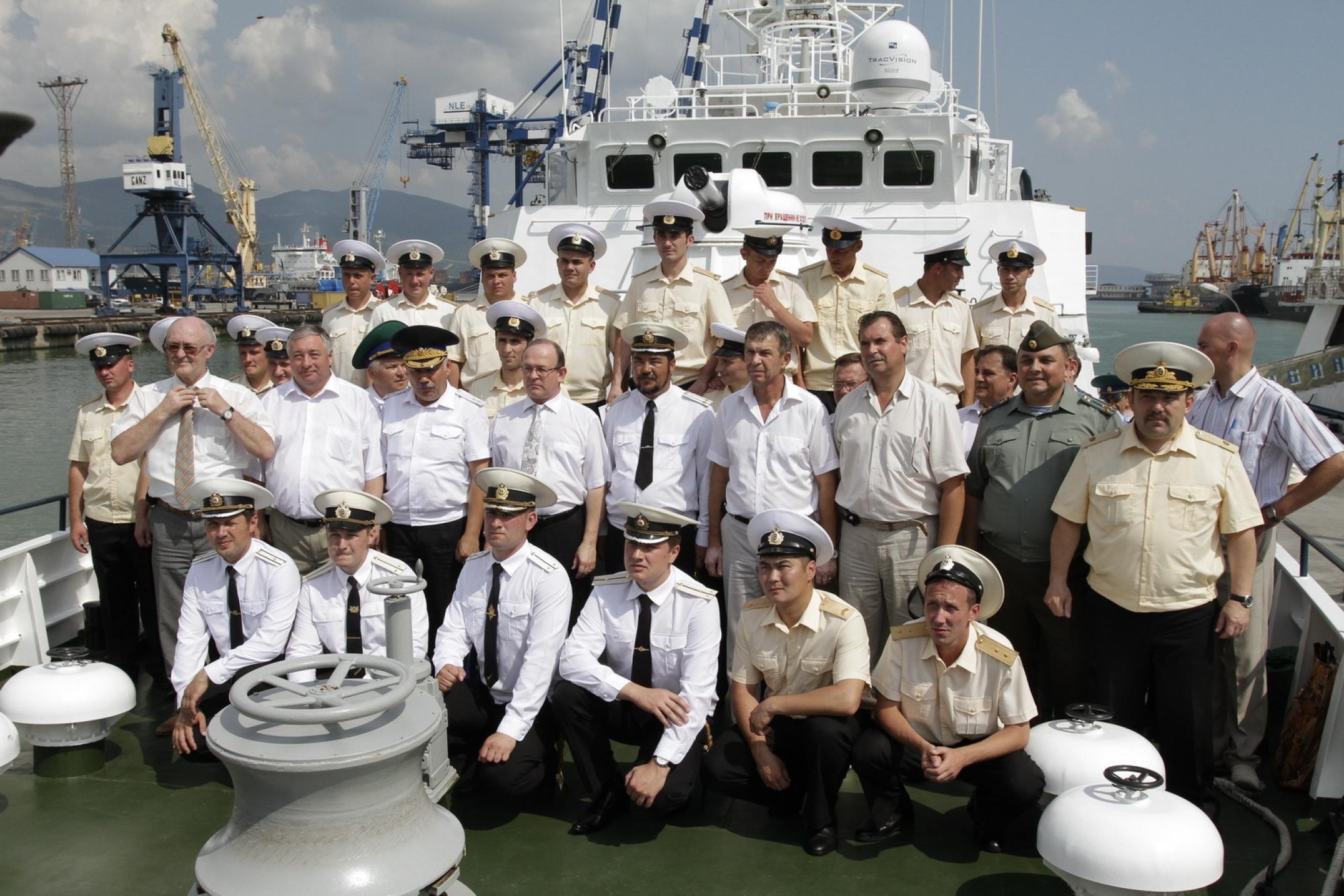 Кроме порта морской пограничный отряд по Финскому заливу