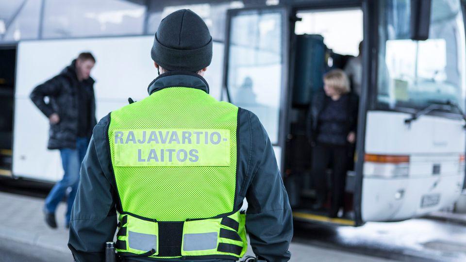 Пограничное движение в Финляндии глазами полиции