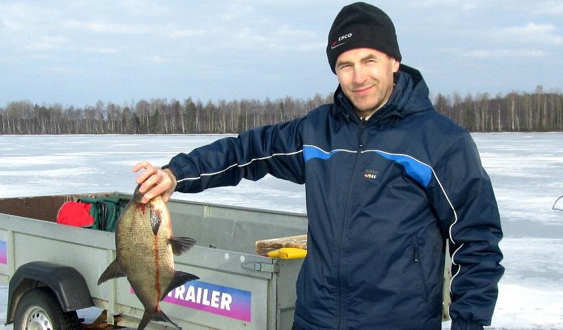 Прелесть финской рыбалки