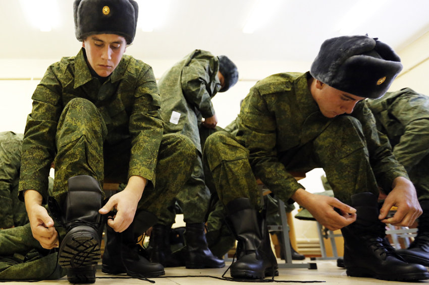 призывники в армию