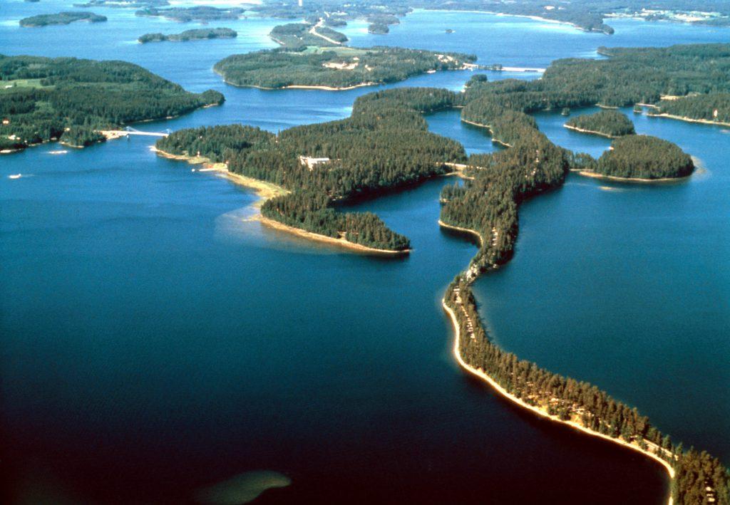 Финляндия — страна рек