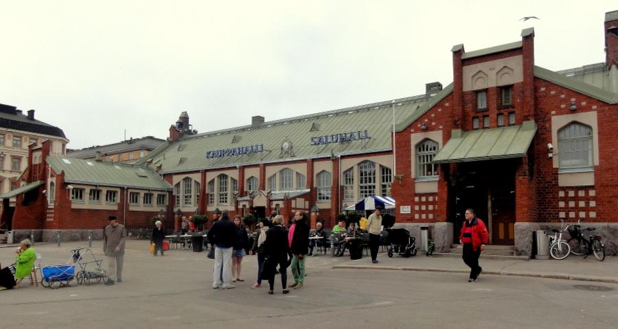 Рыночная площадь в Хиеталахти (Hietalahdentori)