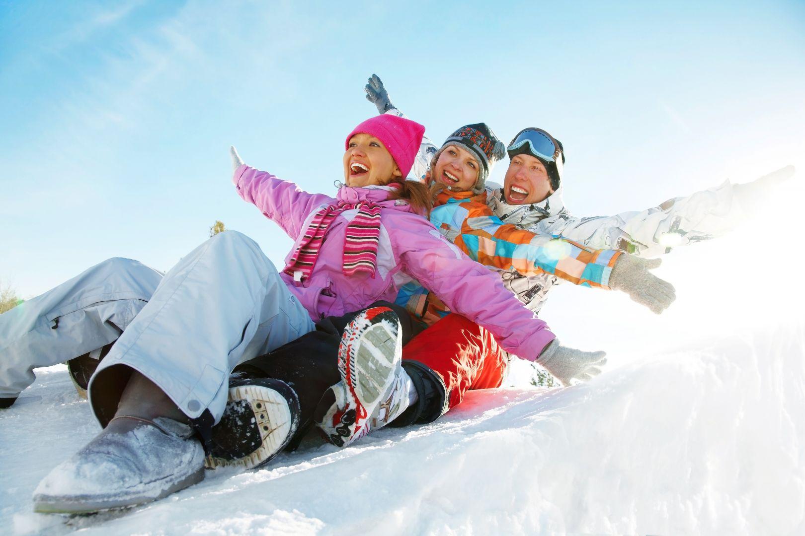 Развлекательный зимний спорт