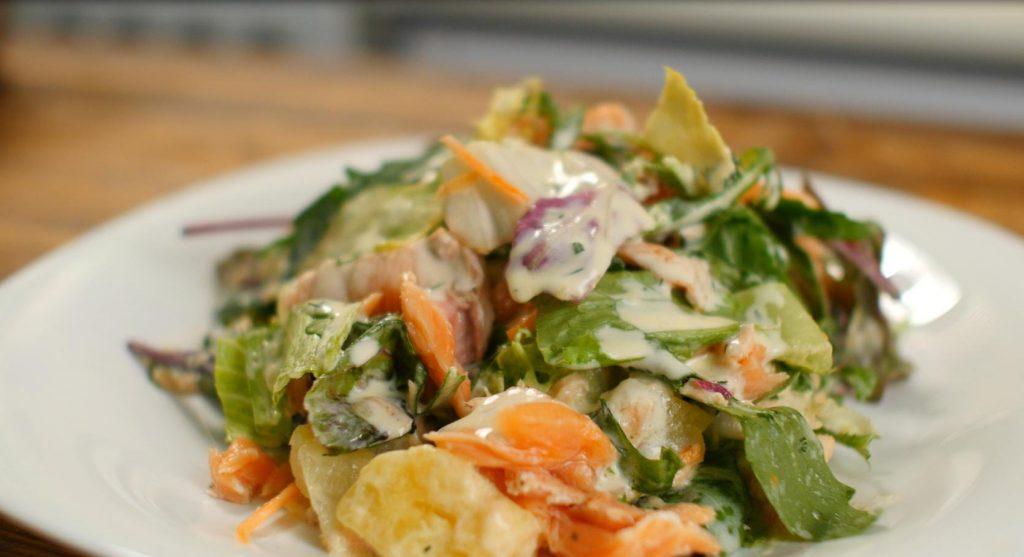 Финский салат