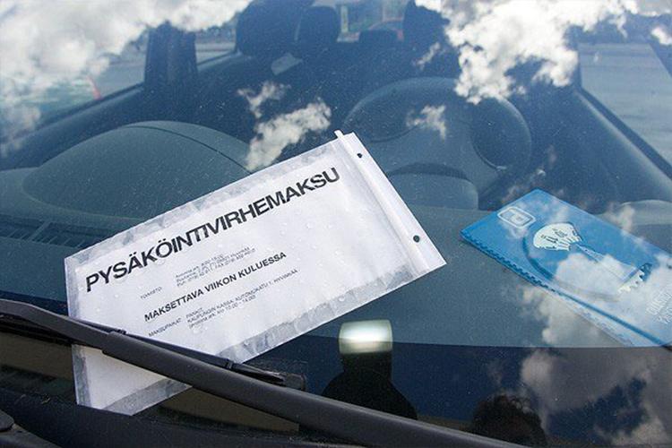 Как парковаться в Финляндии