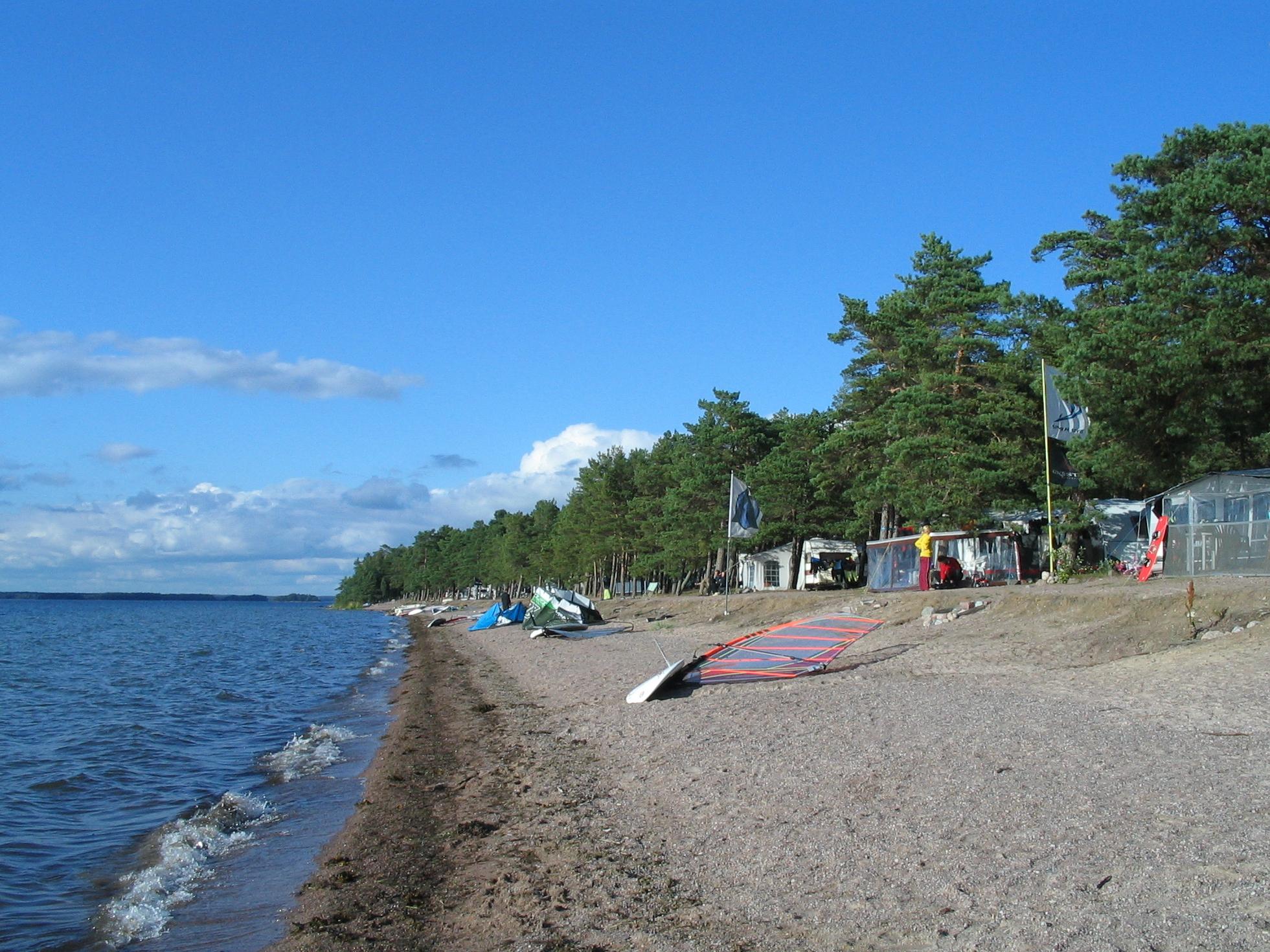 Пляжный отдых в Финляндии