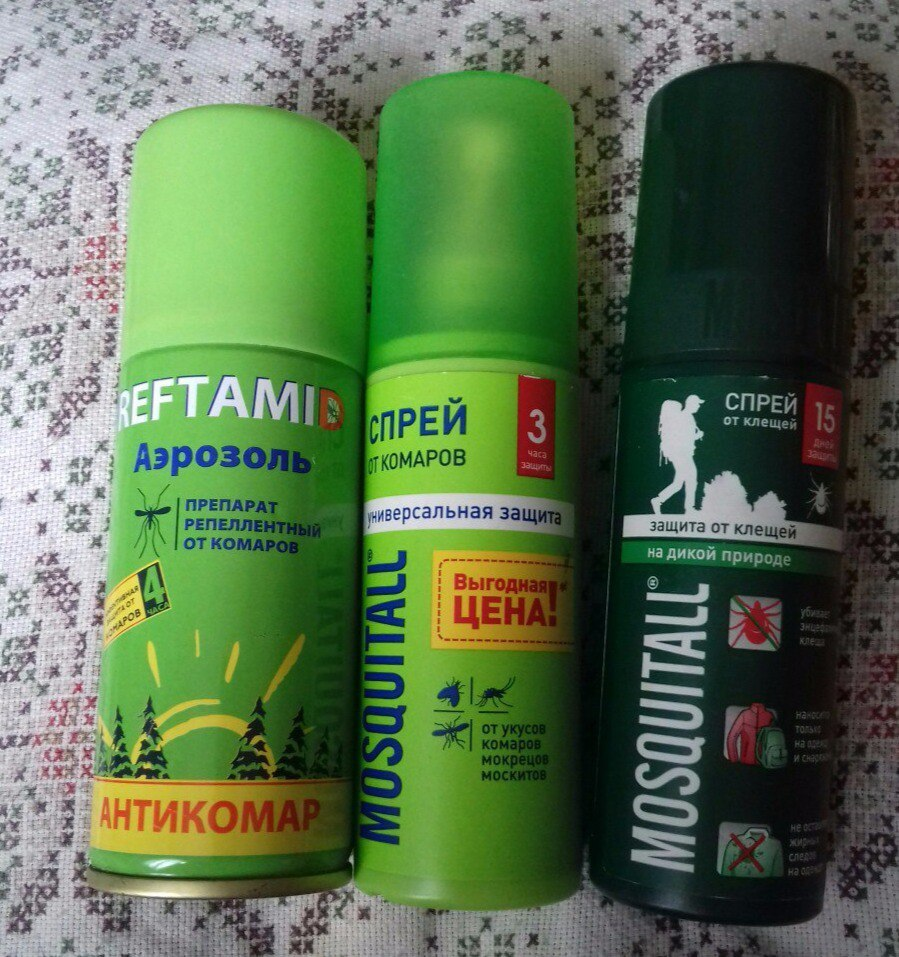 Средствами от комаров