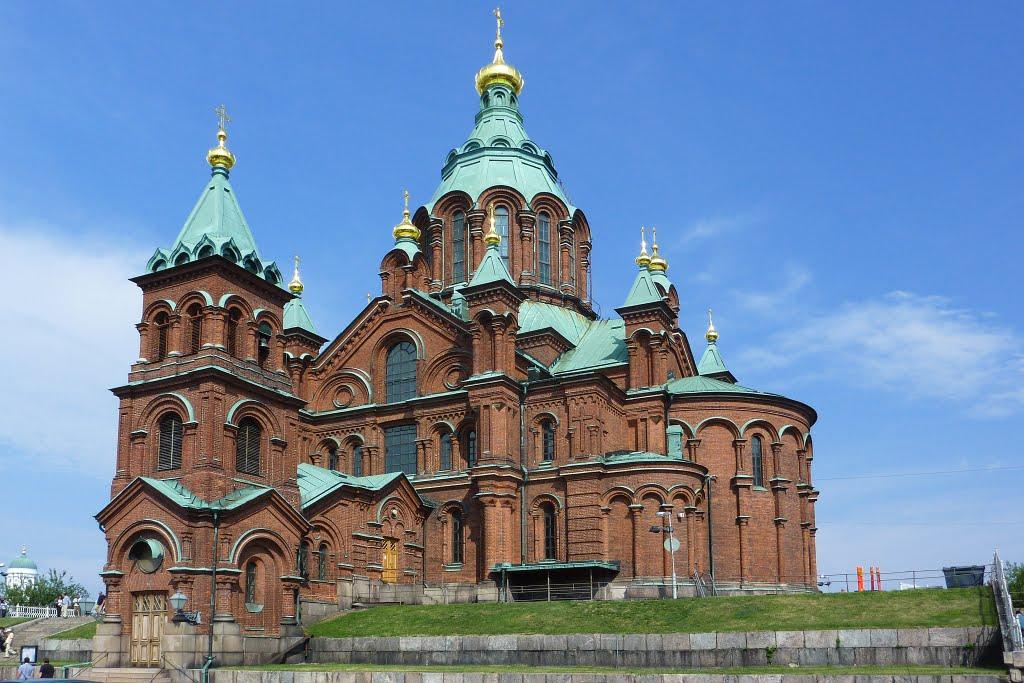 старейшую православную церковь Финляндии