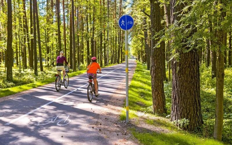 Создание системы велодорожек в Лаппеенранте