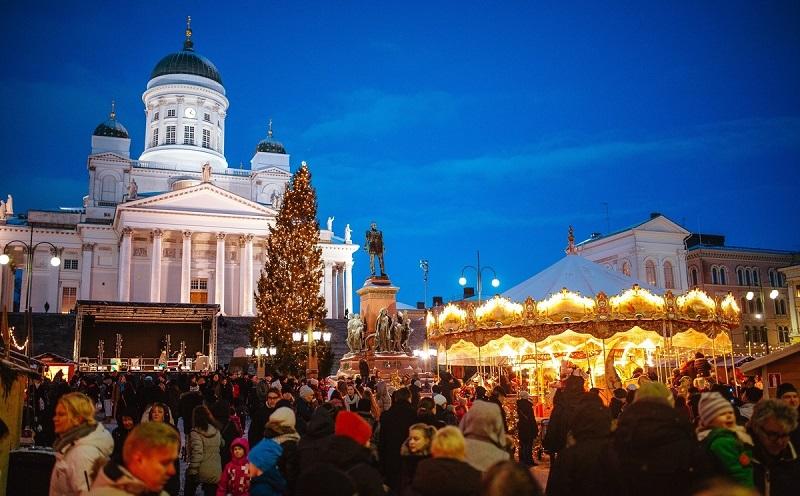 Хельсинки на Новый год
