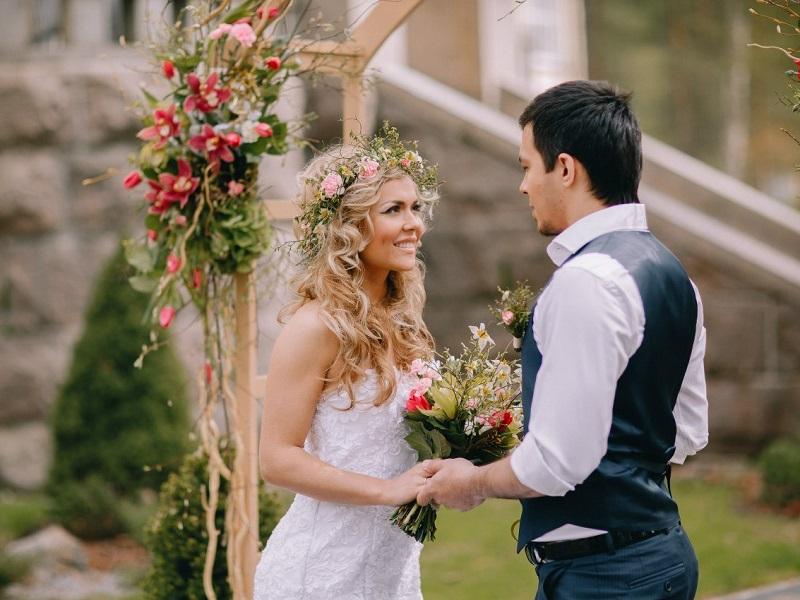 Тематическая свадьба в Финляндии
