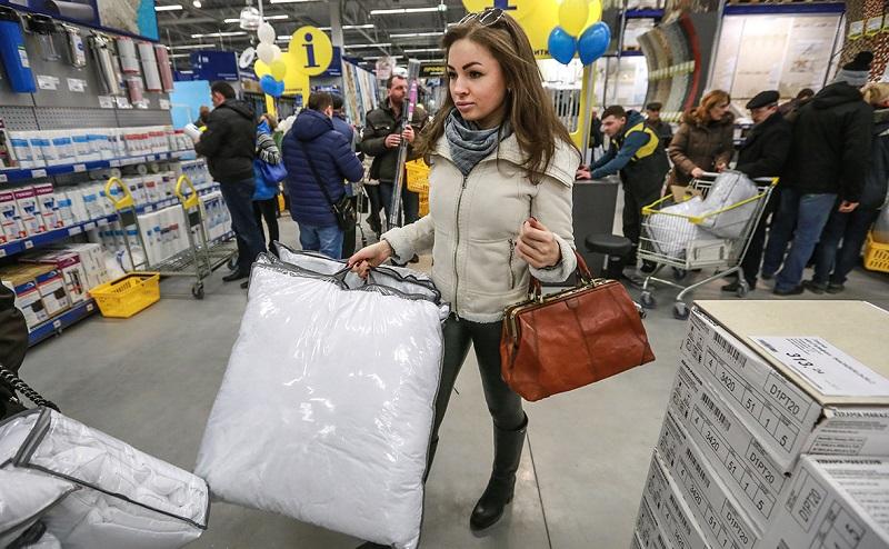 Покупки в К-раута
