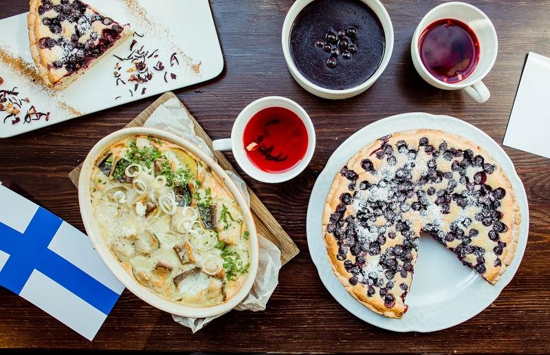 Новогодние блюда и напитки Финляндии