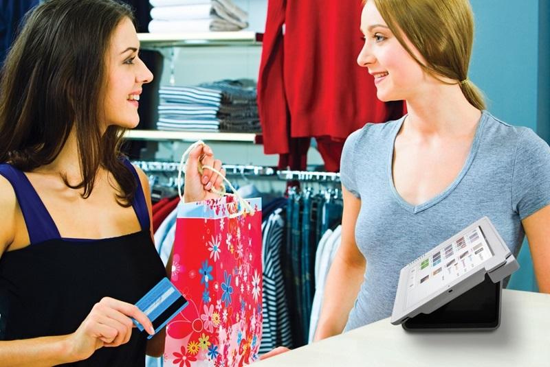 Разговор с продавцом в финском магазине
