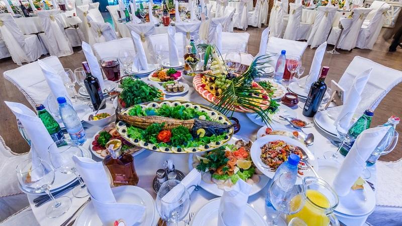 Свадебное застолье в Финляндии