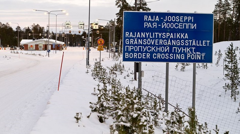 Пункты пропуска на финской границе