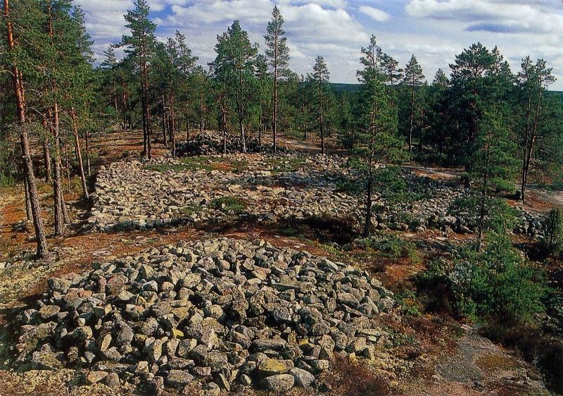 Погребальный комплекс бронзового века Саммаллахденмяки